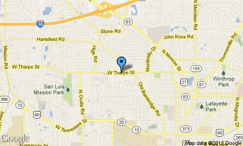 The Storage Center of Tallahassee - Location Map and Directions - Tharpe St.